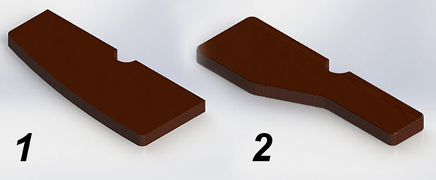 форма ступеней гусиный шаг