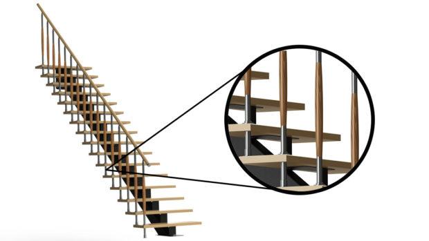 сварной конокосоур со ступенями