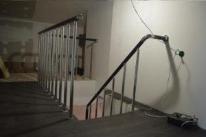 Лестница на двойном каркасе