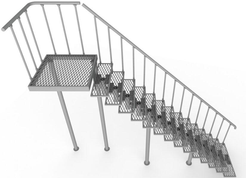 Уличные лестницы
